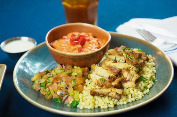 Grilled Chicken Platter Image