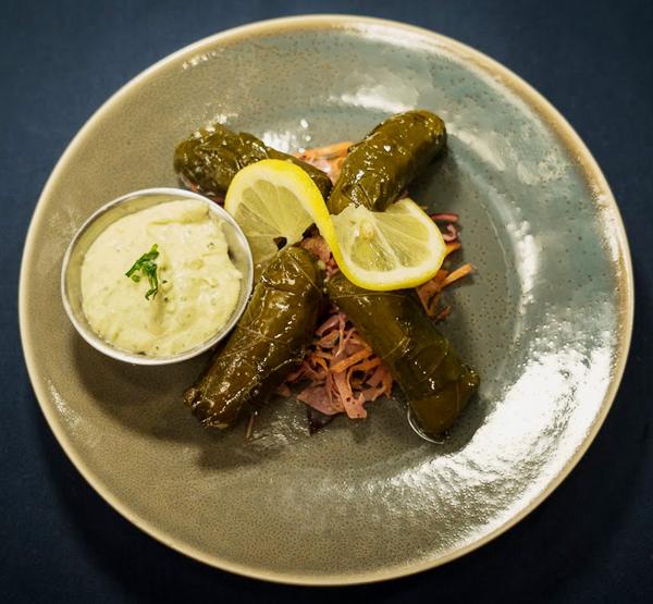 Meatless Grape Leaves (4)