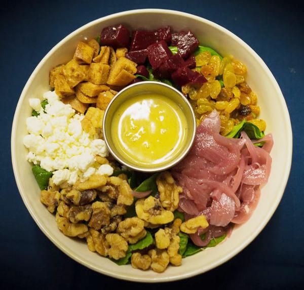 Goat Cheese Salad Image