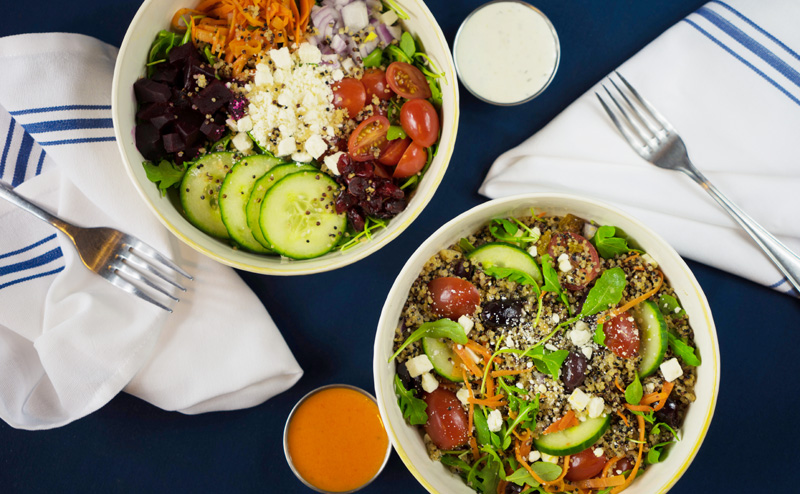 Build Your Own Salad or Rice Bowl Image
