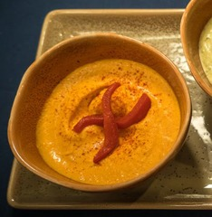 Red Pepper Hummus Image