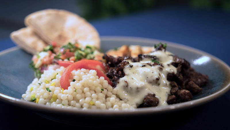 Steak Shawarma Platter Image