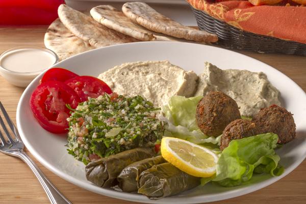 Vegetarian Platter Image