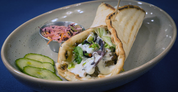 Lamb Shawarma Pita Image