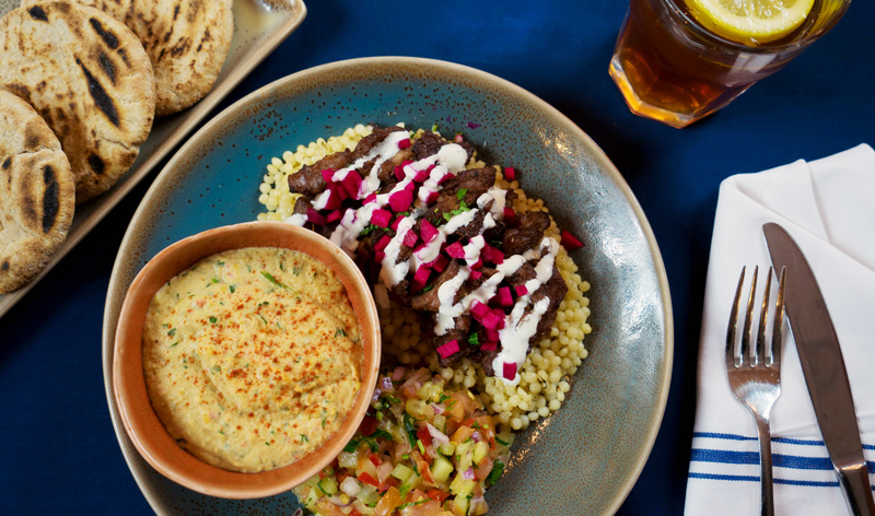 Lamb Shawarma Platter Image