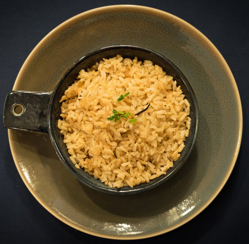 Brown Rice Pilaf Image