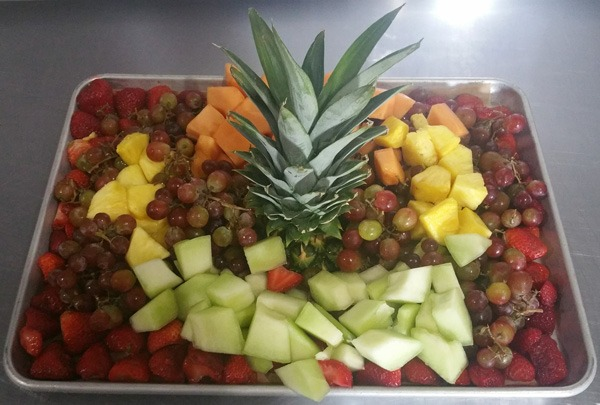Seasonal Fresh Fruit Tray Image