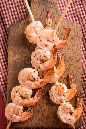 Shrimp Skewers (3) Image