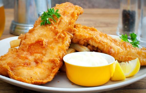 Fried Haddock Image