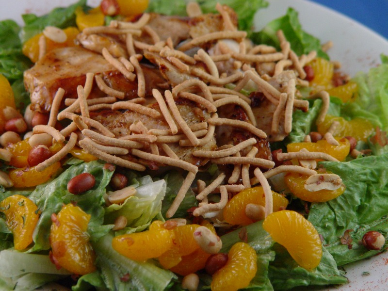 ORIENTAL CHICKEN SALAD Image