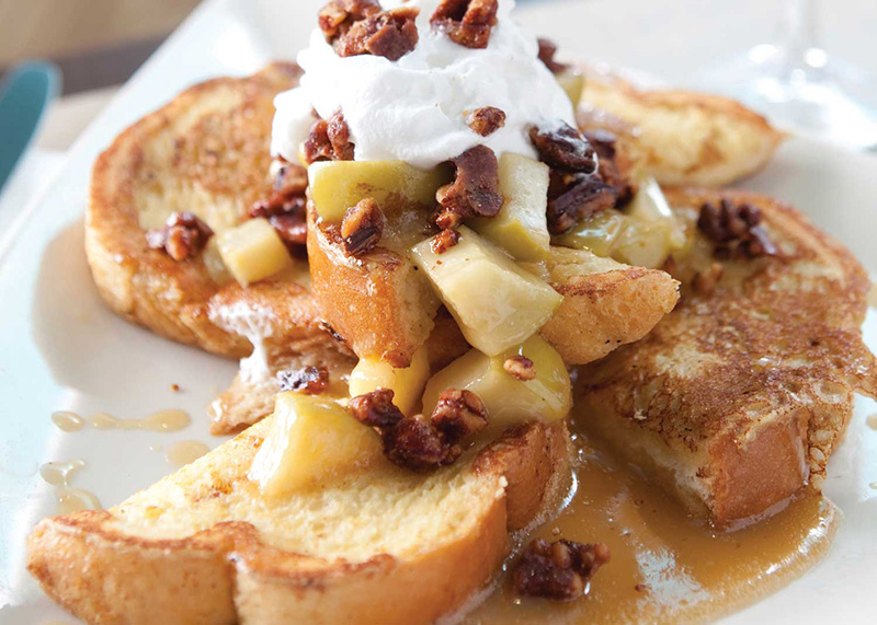 Apples Foster French Toast Image