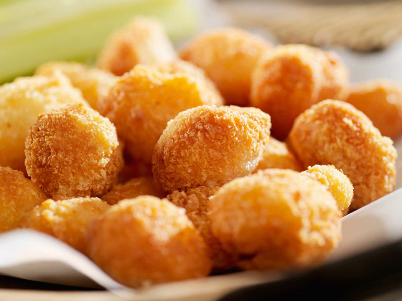 AUTHENTIC CHEESE CURDS Ⓥ Image