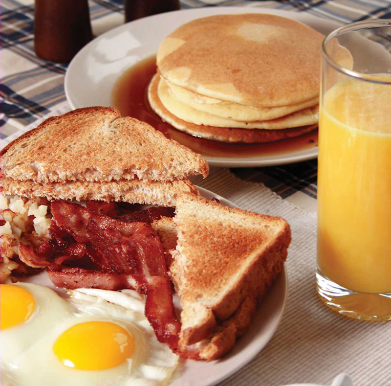Bacon & 2 Eggs Image