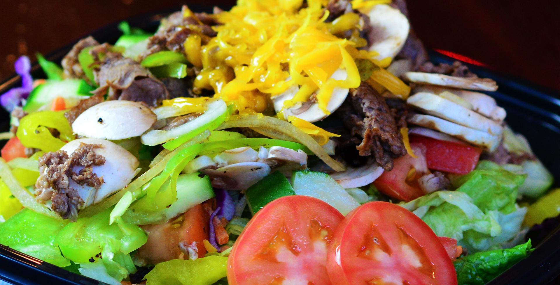 Sizzlin' Salad Image