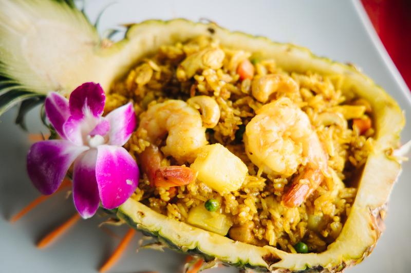 Thai Pineapple Fried Rice Image