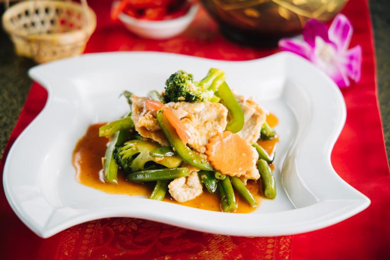 Pik Khing (Lunch)