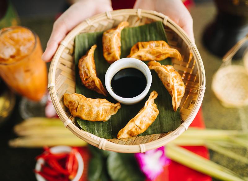 Fried Pork Dumplings (6)