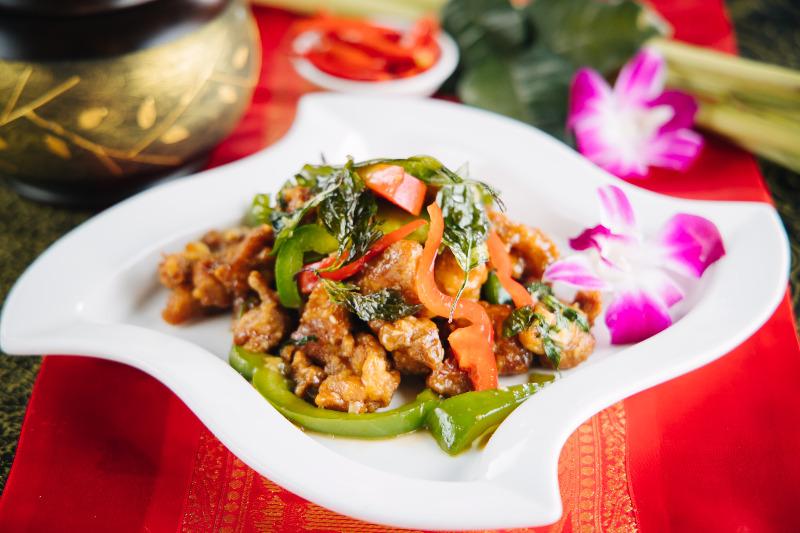 Crispy Thai Basil Image