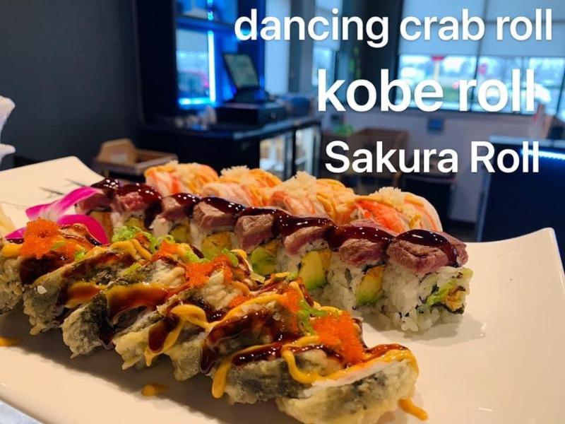 Dancing Crab Roll Image