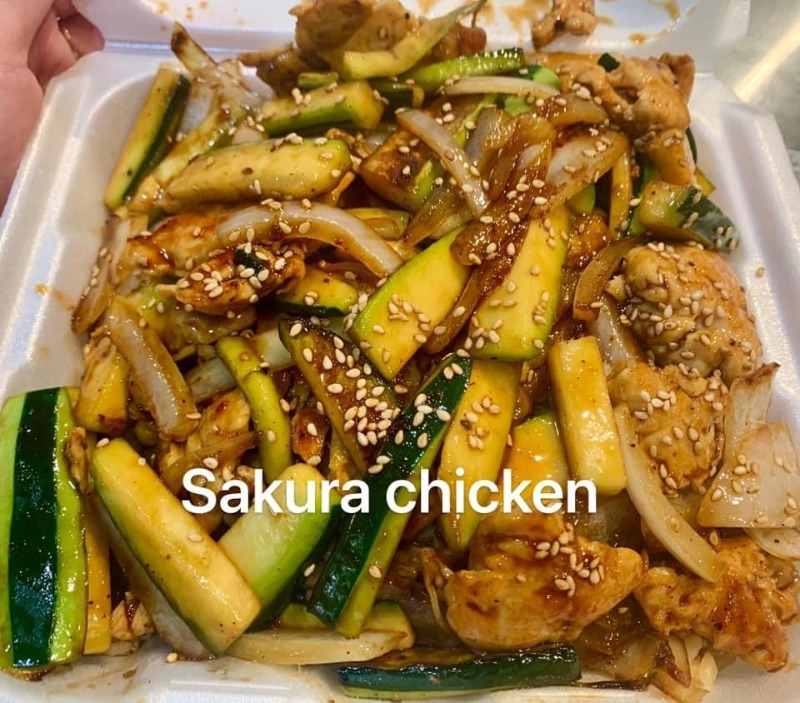 Sakura Chicken Image