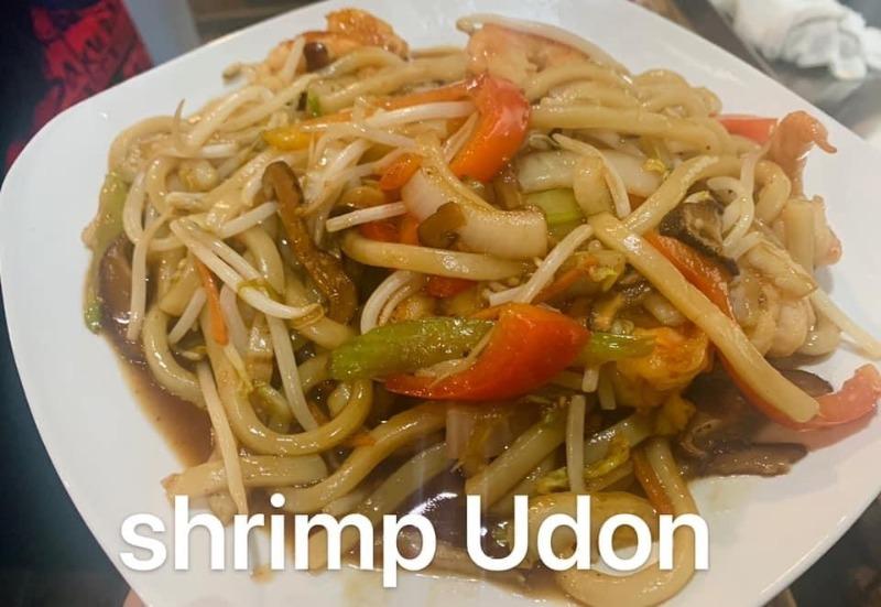 Jumbo Shrimp Udon