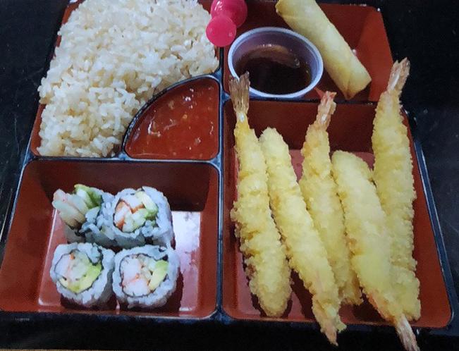 Shrimp Tempura Bento Dinner