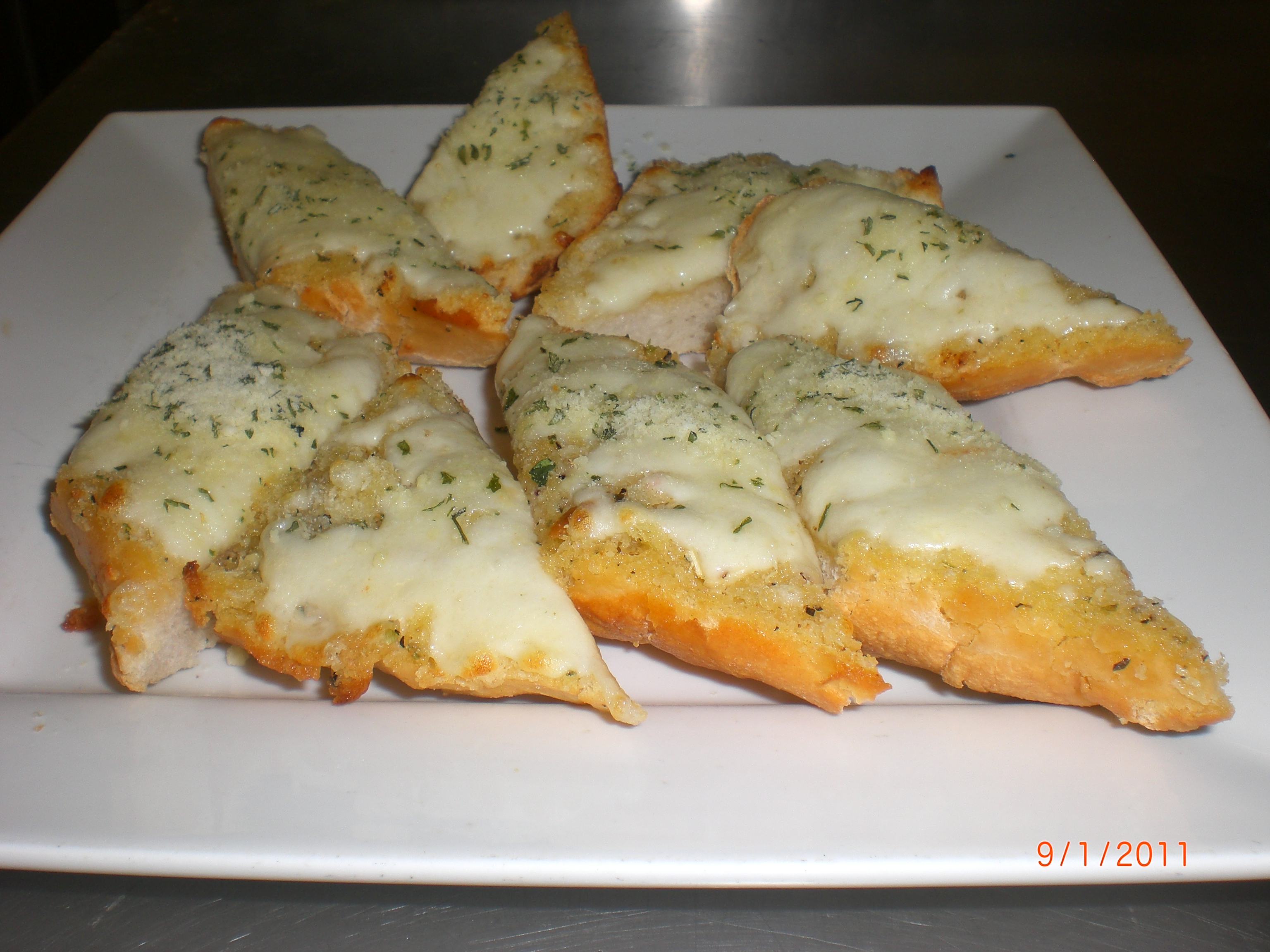 GARLIC BREAD WITH CHEESE Image