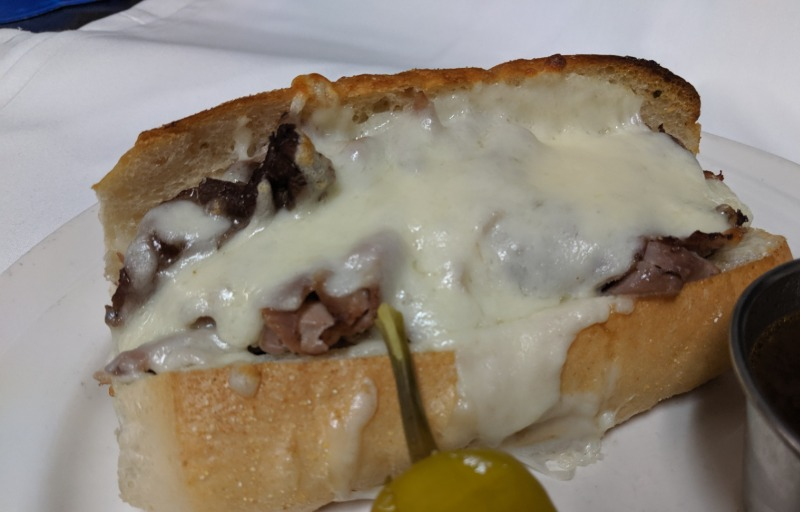 PHILLY BEEF SANDWICH Image
