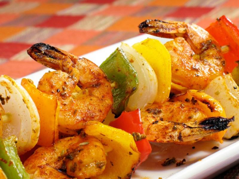 Shrimp Tikka Kabob