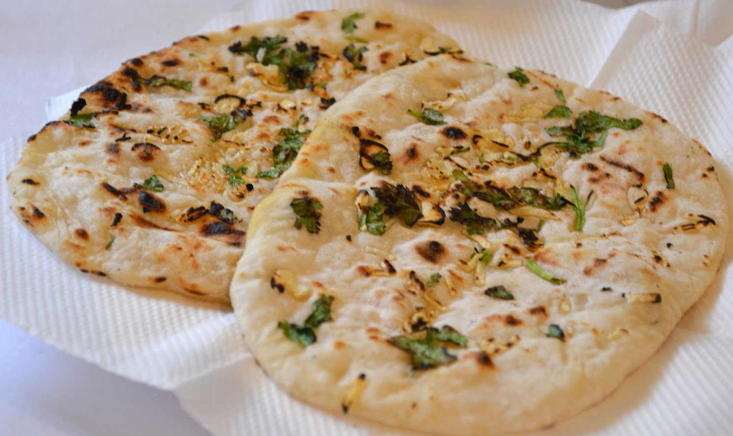 Chilli garlic Naan