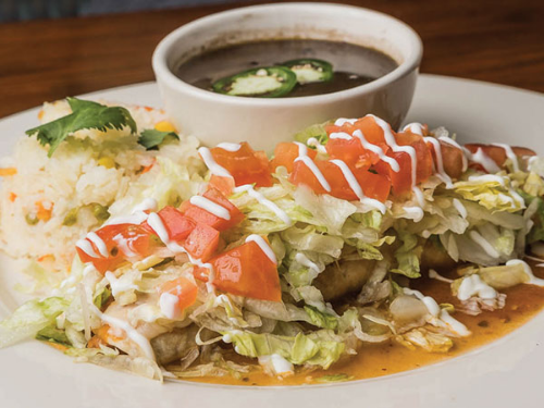 Salsa Verde Burrito Image