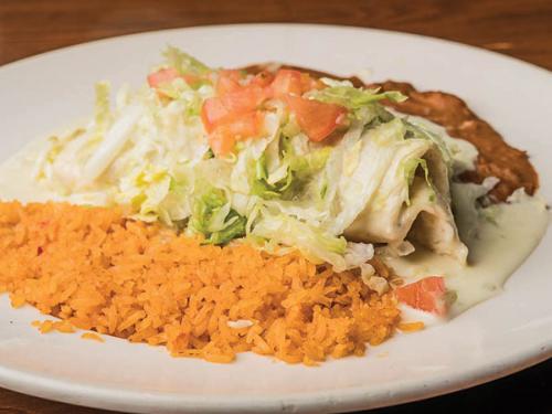 A Las Brasas Burrito