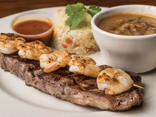 """El Jefe"" Surf and Turf Image"