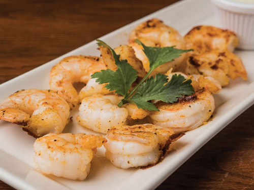 Grilled Shrimp Tapas