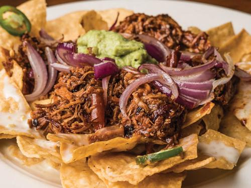 Smoked Chipotle-BBQ Nachos Image