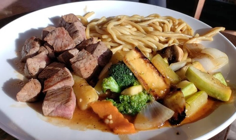 H 8. Filet Mignon Hibachi Dinner Image