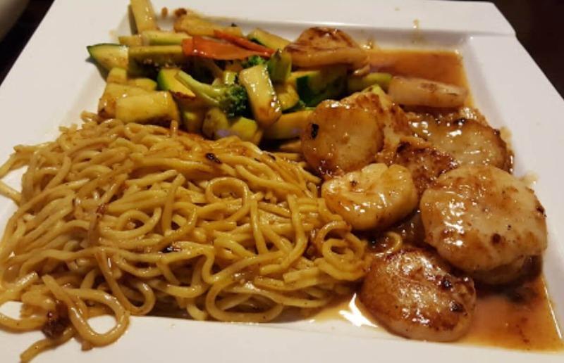 H 6. Scallop Hibachi Dinner Image