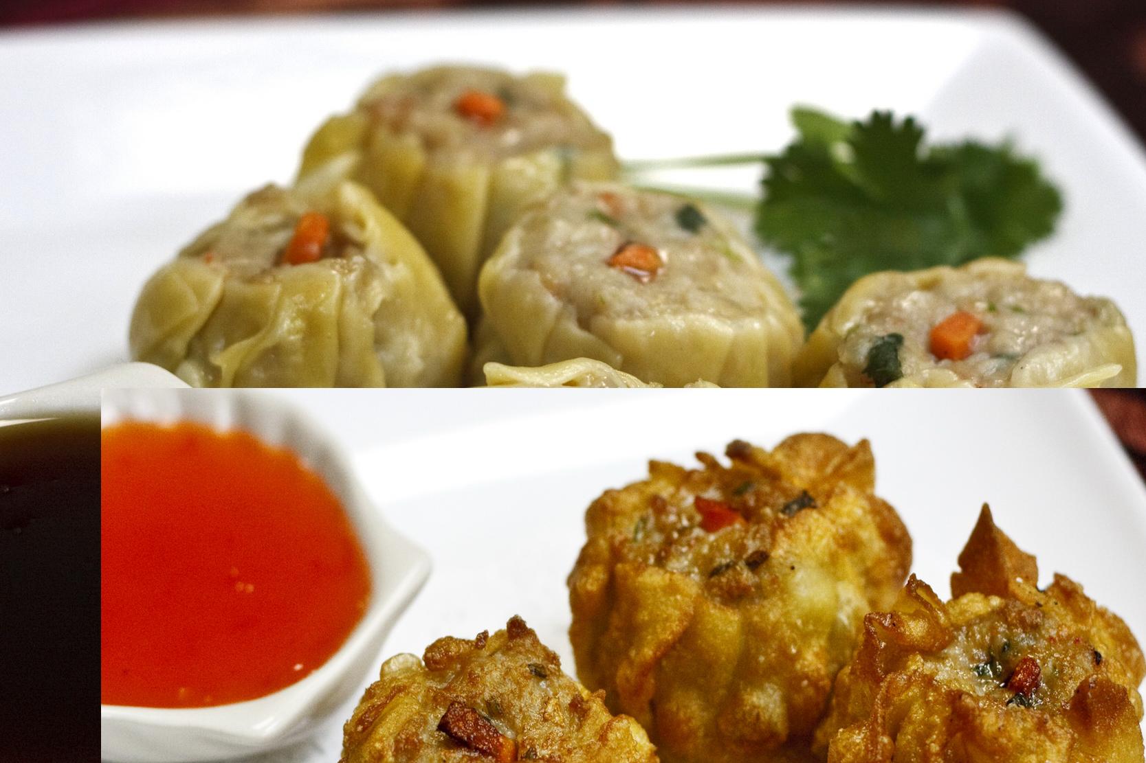 (3) Ka-Nom-Jeeb (Dumplings) Image