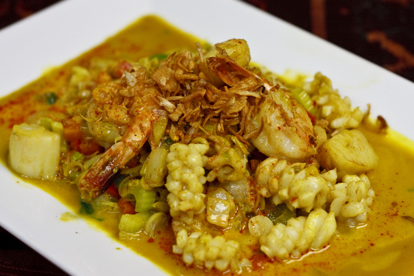 (23) Spicy Seafood Lemongrass Image