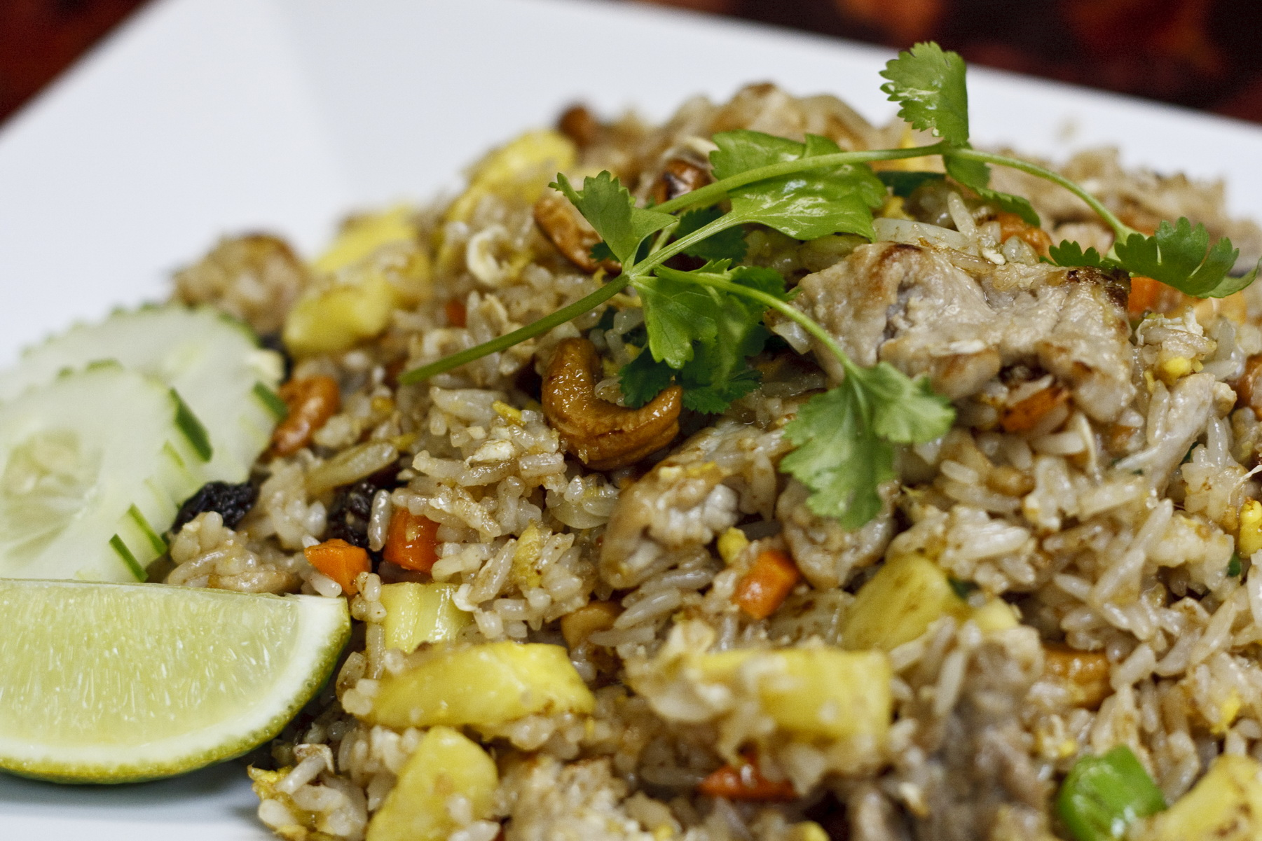 (48) Pineapple Fried Rice Image