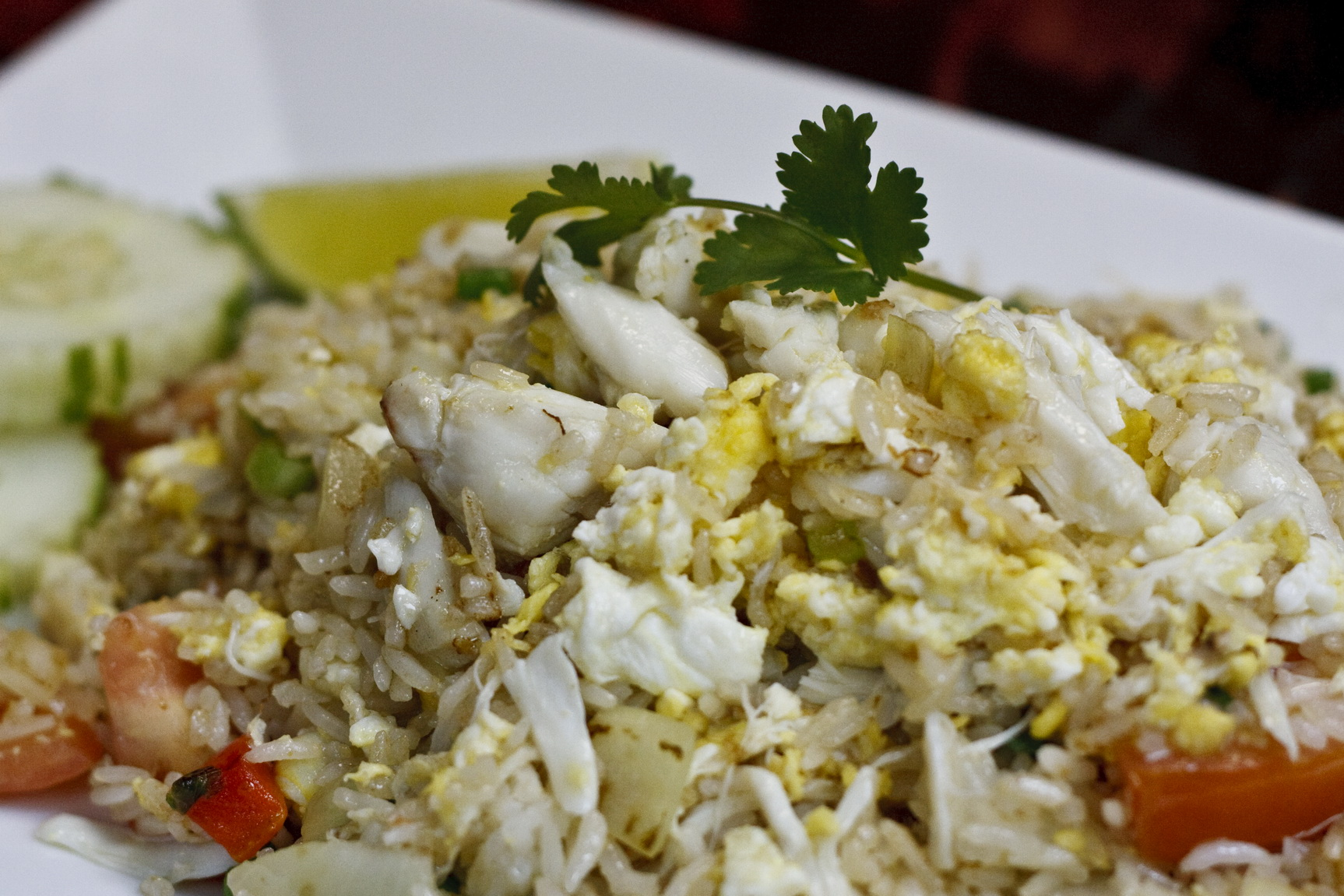 (47) Crabmeat Fried Rice