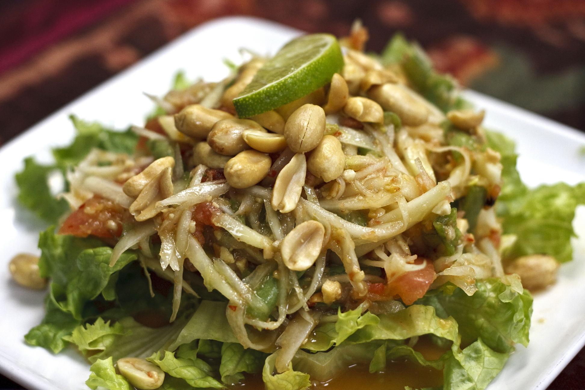 (9) Papaya Salad Image