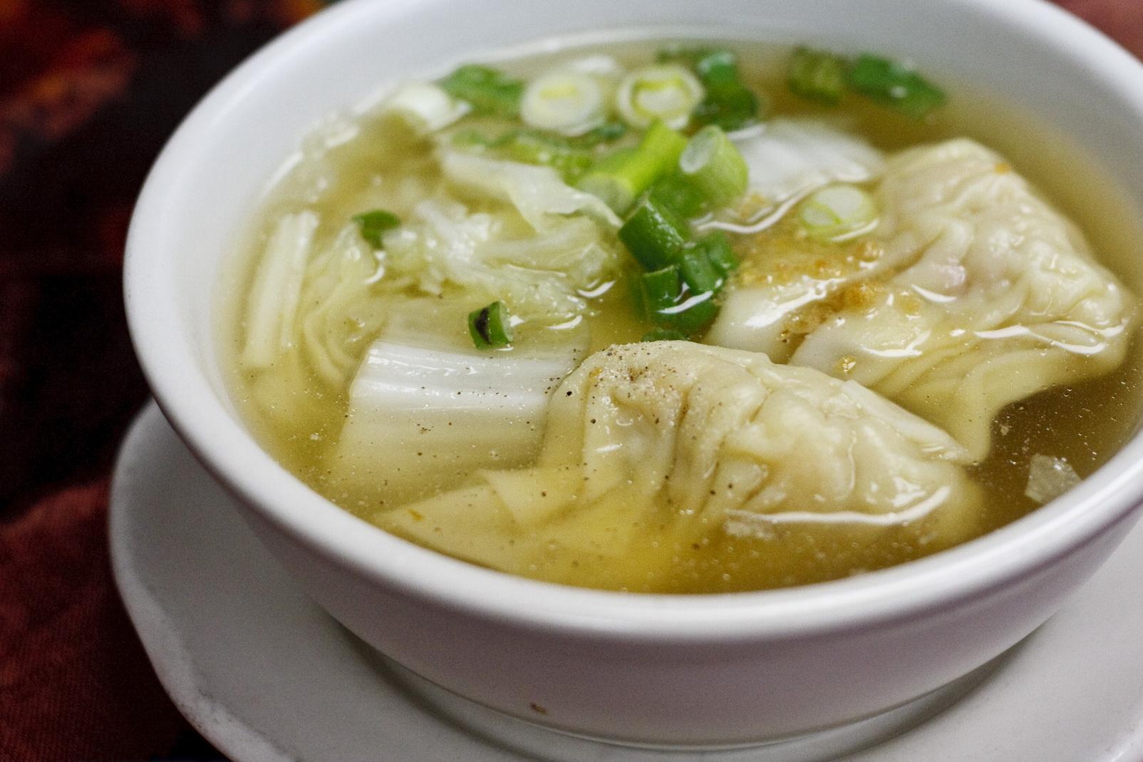 (15) Wonton Soup Image