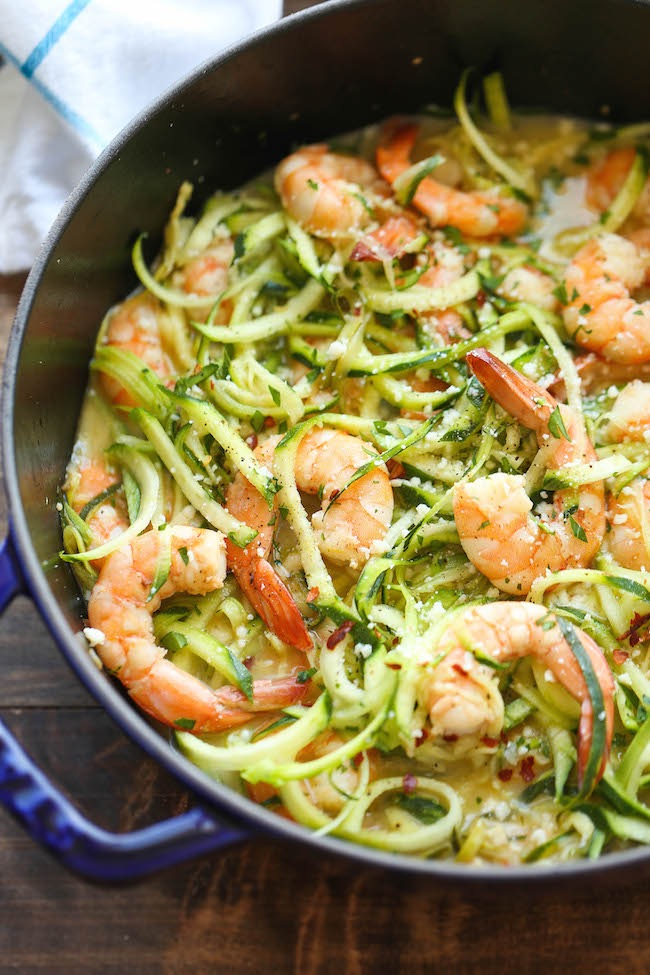Shrimp Scampi with Zoodles Image