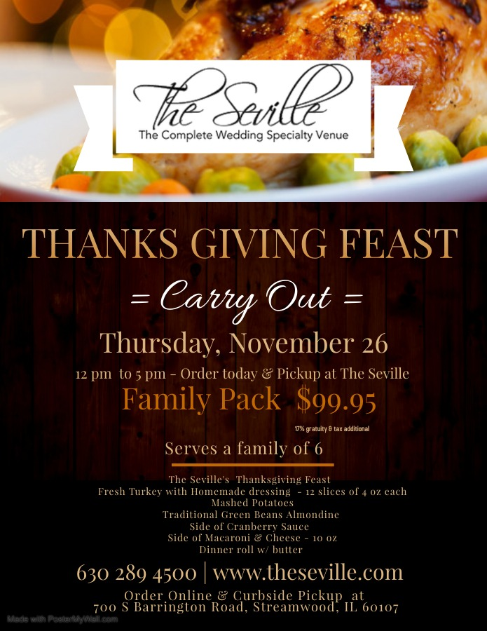 The Seville ThanksGiving Family Feast Image