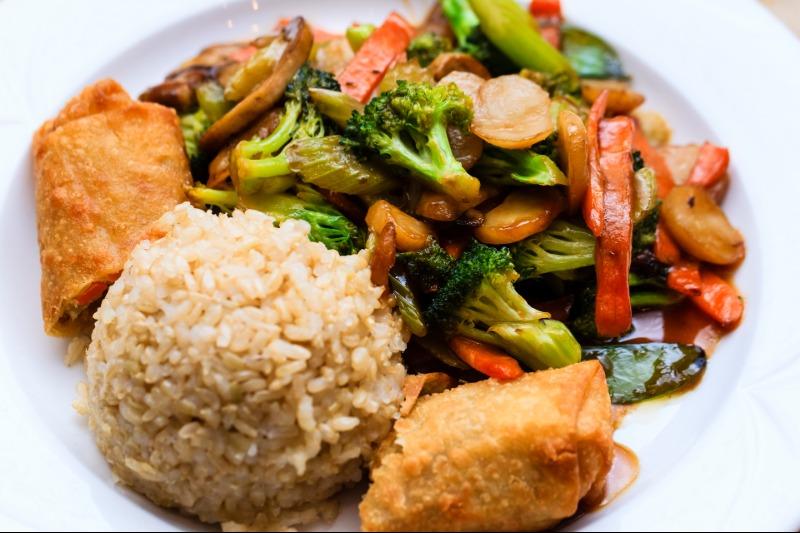 Semi Family Platter - Stir Fry Vegetarian/Vegan Image