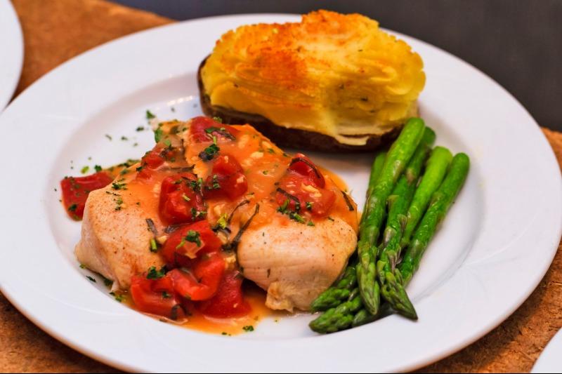 Semi Family Platter - Chicken Bruschetta Image