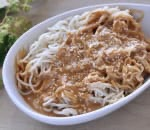 芝麻涼麵 Cold Noodles w. Sesame & Peanut Butter Sauce Image