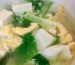 蔬菜豆腐湯 Vegetable Tofu Soup Image