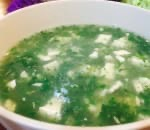 薺菜肉絲豆腐羹 Shepherd Pork and Tofu Soup Image